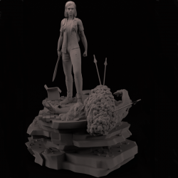 Ellie The Last of US 2 - STL 3D print files