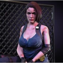 Jill Valentine Resident Evil - STL 3D print files