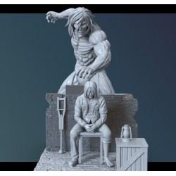 Eren Titan Shingeki No Kyojin - STL 3D print files