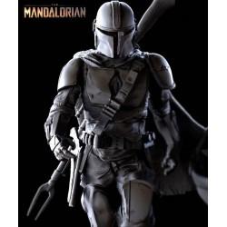 Mandalorian with Baby Yoda Diorama - STL Files for 3D Print