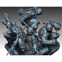Teenage Mutant Ninja Turtles Diorama - STL 3D print files