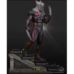 Wolverine Black Statue -...