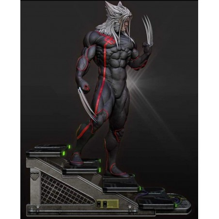 Wolverine Black Statue - STL Files for 3D Print