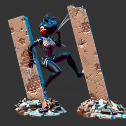 Silk Cindy Moon - STL Files for 3D Print