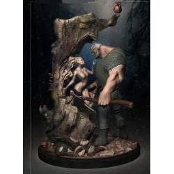 Woodworker Diorama - STL 3D print files