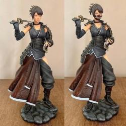 Samurai Girl - STL 3D print files