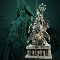 Diana Echo Diorama - STL 3D print files