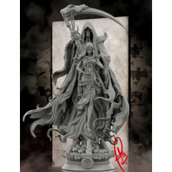 Death Reaper & Girl - STL 3D print files