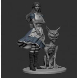 Alice Darkness - STL 3D print files