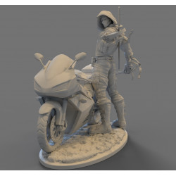 Red Hood Outlaw- STL 3D print files