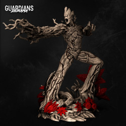 Groot Guardians of the Galaxy - STL 3D print files