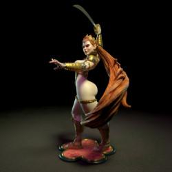 Sword Dancer NSFW - STL 3D print files
