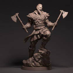 Eivor Viking Warrior - STL 3D print files