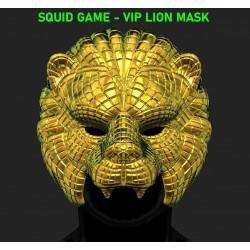 Squid Game VIP Lion Mask - STL 3D print files