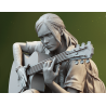 Ellie with Guitar - STL Files for 3D Print