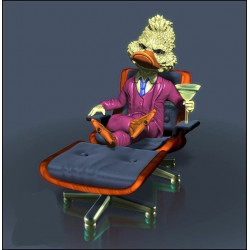 Howard the Duck - STL 3D print files