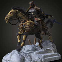 Batman Shogun Horse - STL 3D print files
