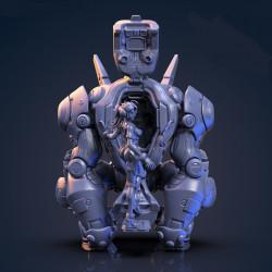 Silverback and Jane - STL 3D print files