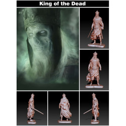 King of the Dead Lord of the Rings - STL 3D print files