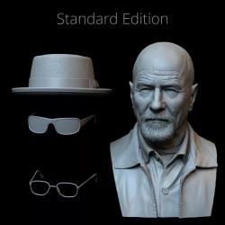 Walter White Breaking Bad - STL 3D print files