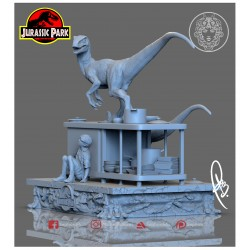 Jurassic Park: Kitchen Scene - 3d print stl files