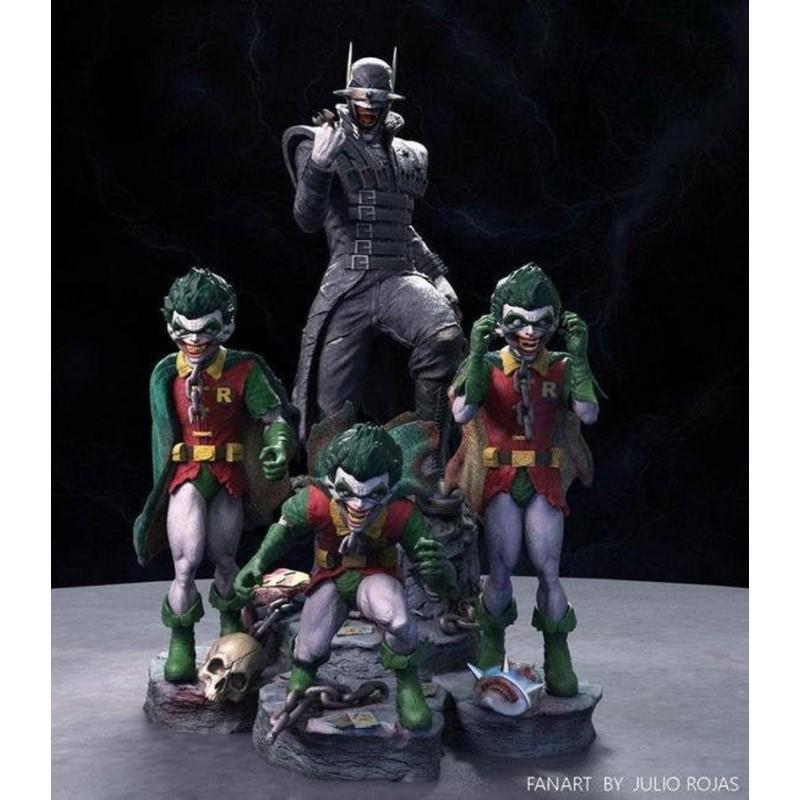 Batman who Laughs Diorama - STL Files for 3D Print