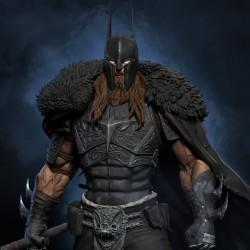 Batman Viking - STL Files for 3D Print
