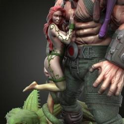 Bane Diorama - STL Files for 3D Print