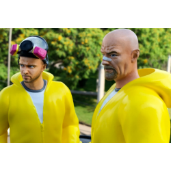 Breaking Bad - Jesse and Walter - STL Files for 3D Print