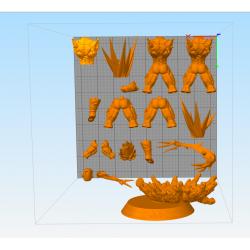 Vegeta Majin - 3d print stl files