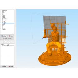 Joker in Prison STL Files for 3D Print